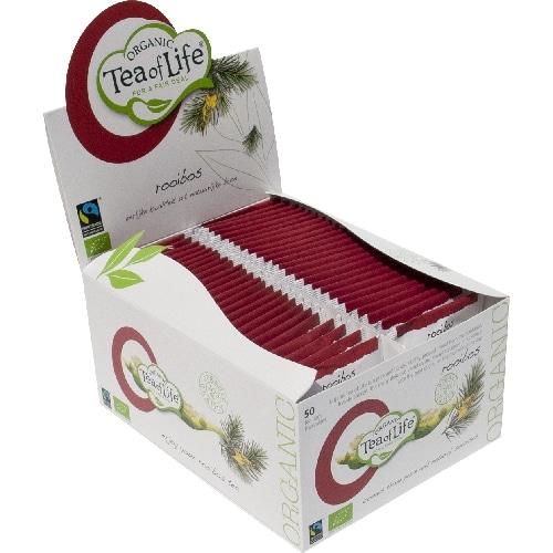 Afbeelding doosje Tea of Life Rooibos Bio