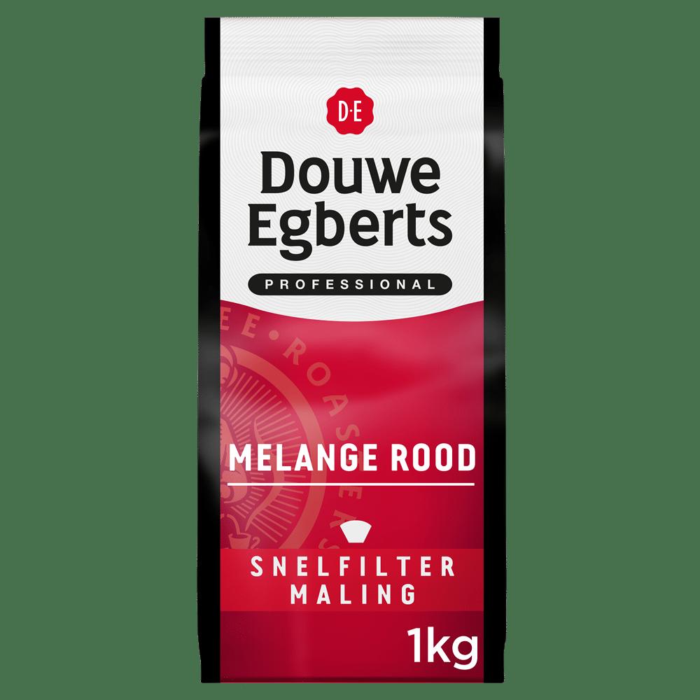 Afbeelding pak Douwe Egberts Melange Rood Filter