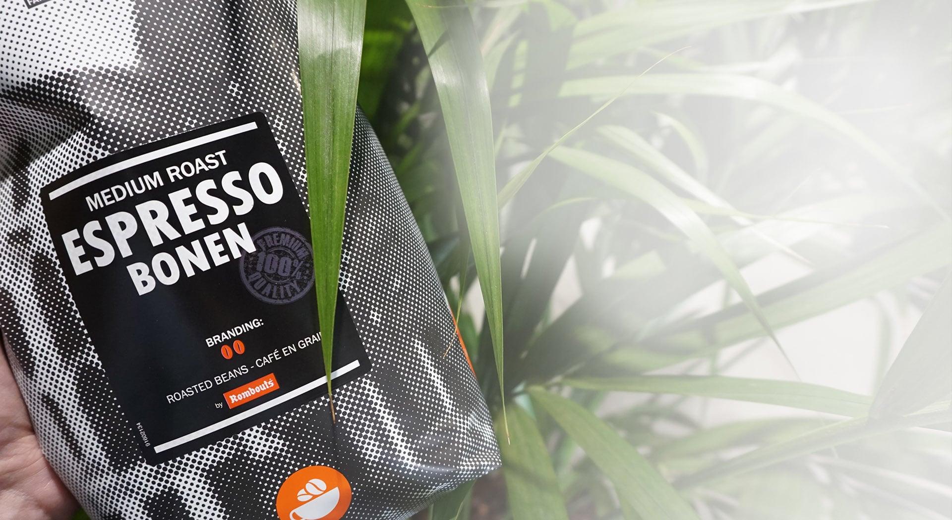 Rombouts espressobonen zak