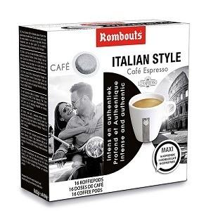 Afbeelding doosje Rombouts Pods Italian Style