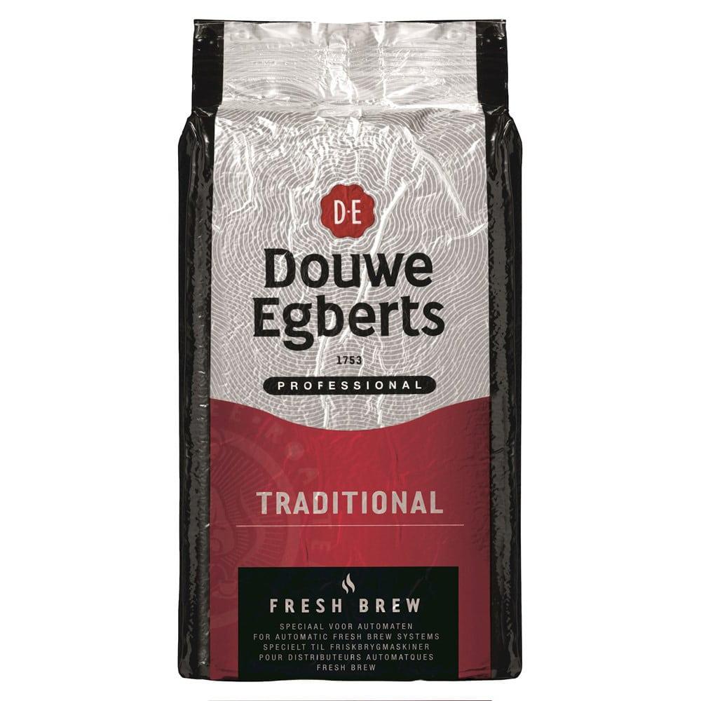 Afbeelding zak Douwe Egberts Fresh Brew Gemalen Koffie Traditional