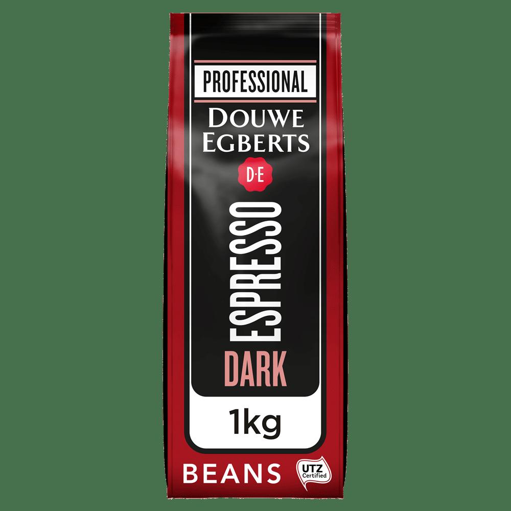 Afbeelding zak Douwe Egberts Espresso Koffiebonen Dark Roast