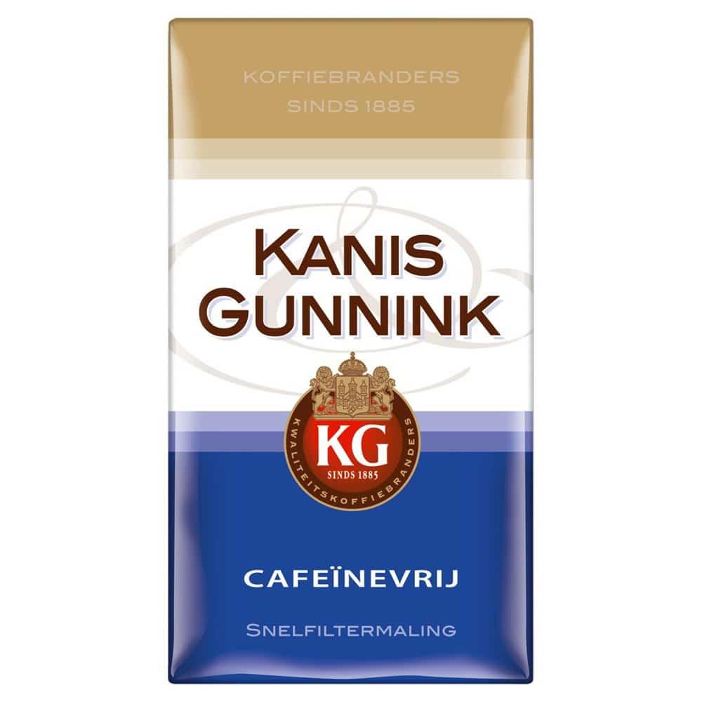 Afbeelding pak Kanis & Gunnink Decaf Filterkoffie