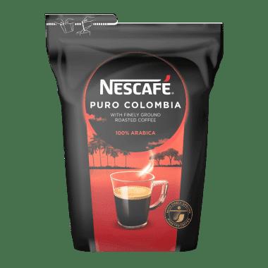 Afbeelding zak Nescafé Puro Colombia