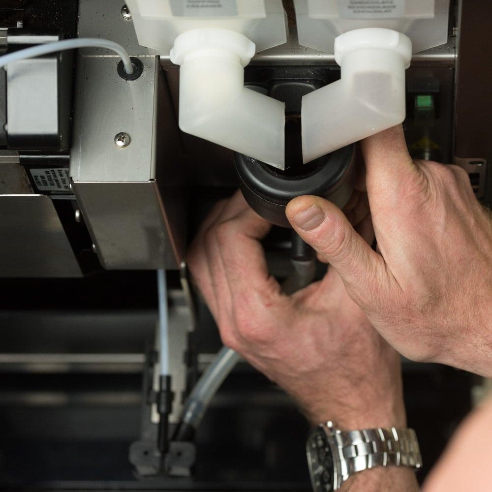 Koffiemachine reinigen comfort operating