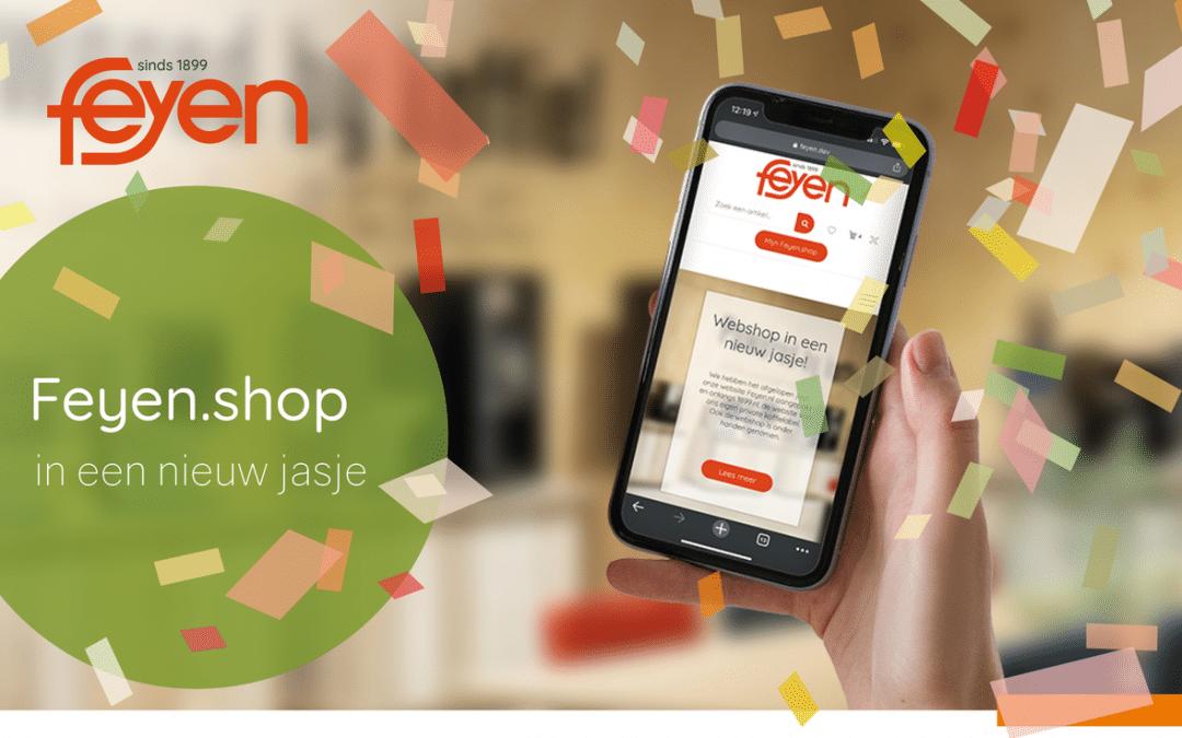 Nieuwsbrief Feyen.shop update